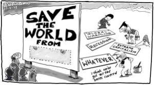 Save the world from various stuff.